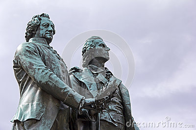 Goethe & Schiller Memorial in Weimar