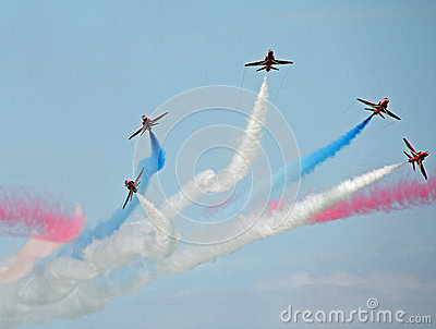 Red arrows stunt team