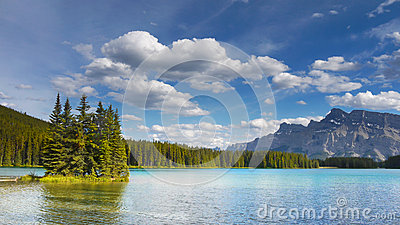 Rocky Mountains, Lake, Canada