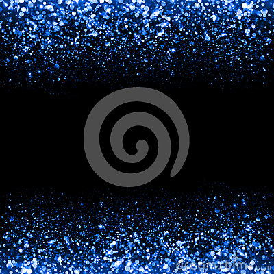 Abstract blue sparkle glitter background.