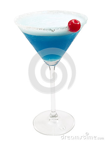 Cocktails Collection - Blue Lady
