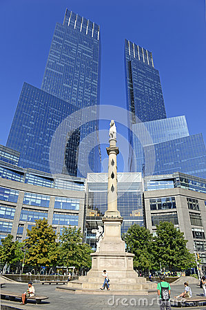 Time Warner Center in NYC