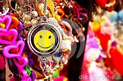 Smiley Keychains for unleashing the positivity in You