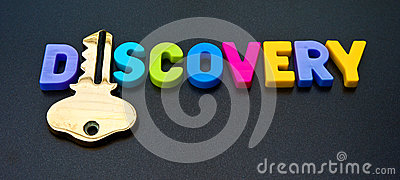 Key to discovery