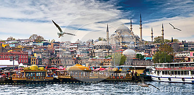 Istanbul the capital of Turkey