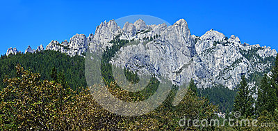 Castle Crags panorama