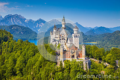 Neuschwanstein Fairytale Castle, Bavaria, Germany