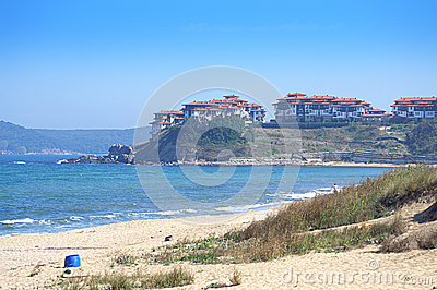 stock image of saint thomas holiday village,bulgaria