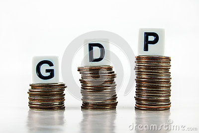GDP (Gross Domestic Product) – Business Concept