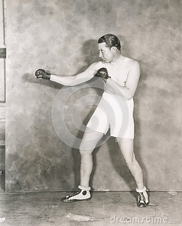 Boxers stance