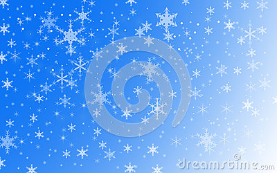 Winter Holiday Snow Background