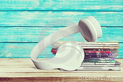 CDs and Headphones
