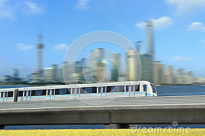 Shanghai Rail transit train