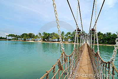 Bridge in Sentosa