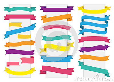 Label Tag Banner Ribbon Vector