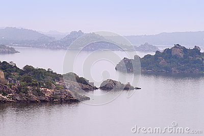The islands on Victoria lake near Mwanza city, Tanzania