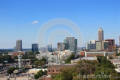 Atlanta Midtown Skyline, USA