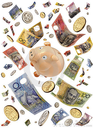 Australia Money Piggy Bank
