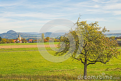 Country idyll in Germany