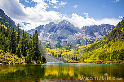 Maroon Bells in Aspen