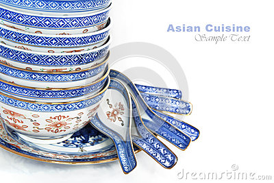 Pile of Bowls and spoons