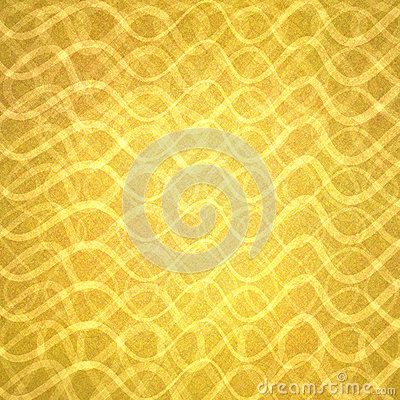Abstract gold with wavy layers of lines in abstract pattern, luxury gold background design