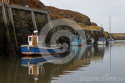 Harbour scene, Amlwch, Anglesey