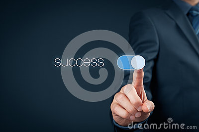stock image of success in business