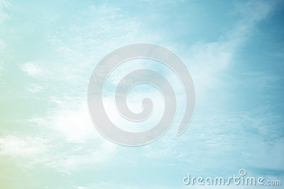 Fantastic soft cloud and sky abstract background