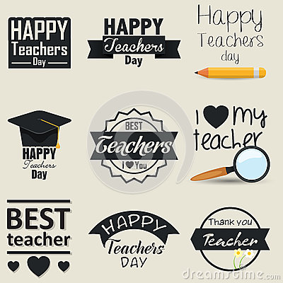 Designed to use for Teacher's Day cards and background designs.