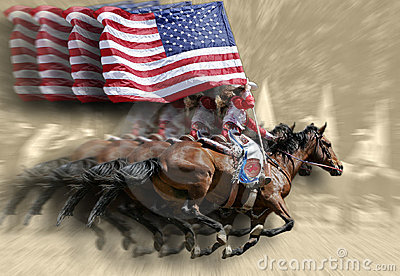 Rodeo Queens & Flags