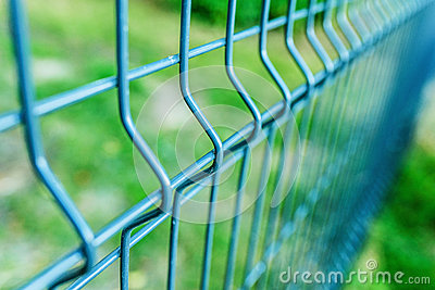 Metal fence wire