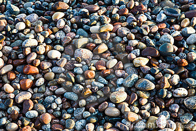 Beach Rocks Abstract Background