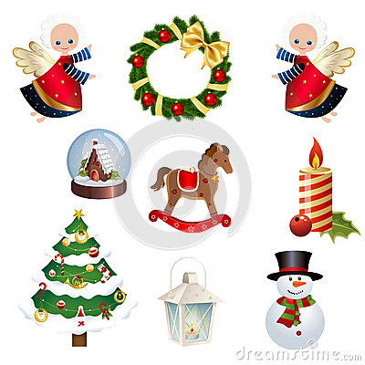 Set of Christams clipart