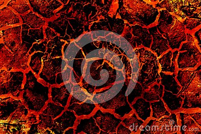 Art hot lava fire abstract pattern