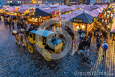 Nuremberg, Germany-Christmas Market- stagecoach tour