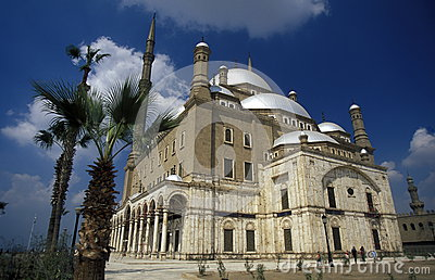 AFRICA EGYPT CAIRO OLD TOWN MOHAMMED ALI MOSQUE