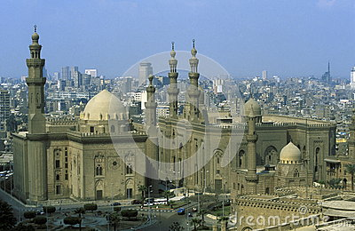 AFRICA EGYPT CAIRO OLD TOWN SULTAN HASSAN MOSQUE