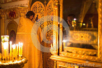 Christmas service and the vigil on Feast of the Nativity of Christ (Russian Orthodox Church)
