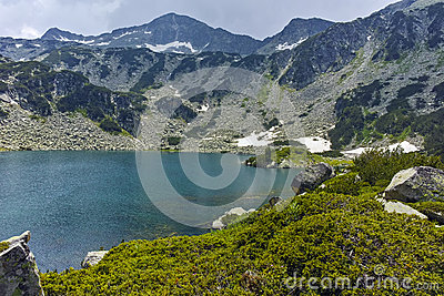 Amazing Landscape of Banderishki Chukar Peak and The Fish Lake, Pirin Mountain