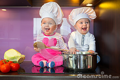 Little cook twins.