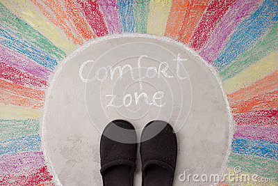 Leaving your comfort zone