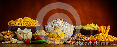 Snacks, Chips and Popcorn