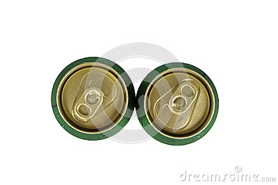 Two top can of beer