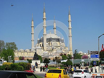 Selimiye Mosque in Edirne Turkey