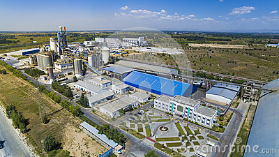 Cement plant china