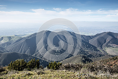 Views from Eagle Peak in Mount Diablo State Park