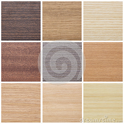 Collection of wood textures