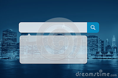 Search Box Technology Internet Browse Browsing Online Concept