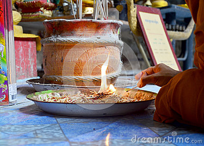 The matches for religious ceremony of fire